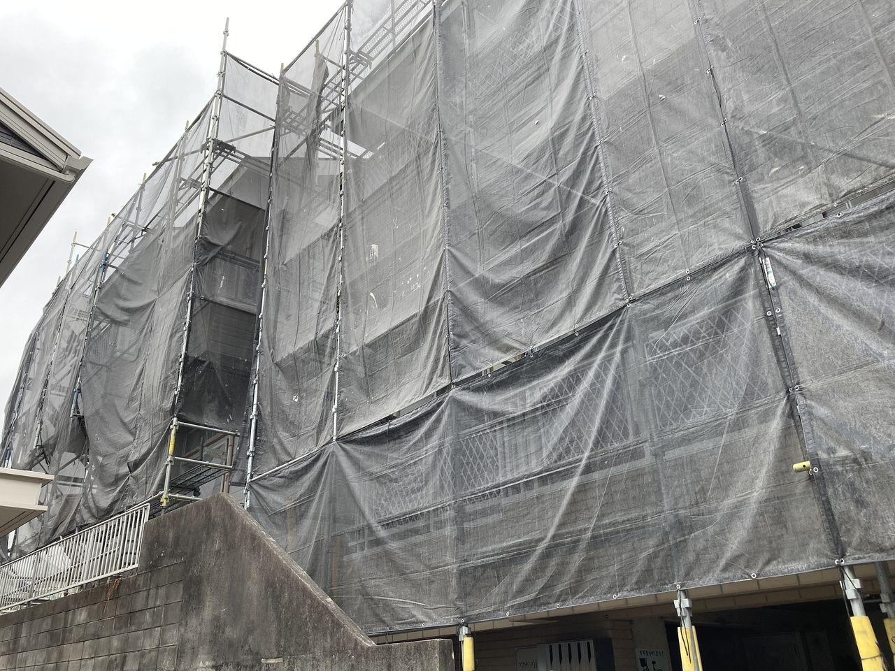 大規模改修工事「アクティブ百合ヶ丘」